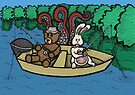 Teddy Bear And Bunny - Ignorance Is Bliss by Brett Gilbert
