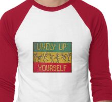 lively up yourself! Men's Baseball ¾ T-Shirt