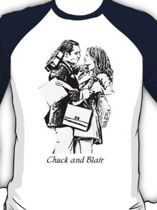 Chuck and Blair - I love you T-Shirt