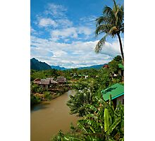 Along the Zong River Photographic Print