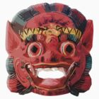 Thailand Demon Face by paulcarstairs