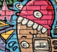 Truro graffiti Sticker