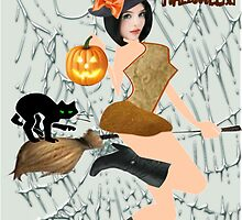 Halloween Greeting (3339 Views) by aldona