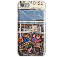 COFFEE AND PASTRIES AT PREMIERE MOISSON IN MONTREAL iPhone Case/Skin