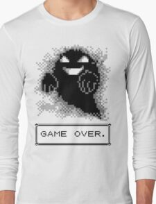 Ghost Used Curse! GAME OVER Long Sleeve T-Shirt