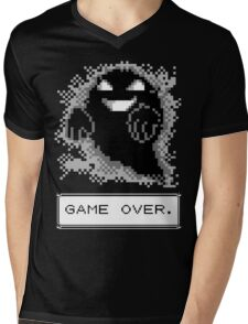 Ghost Used Curse! GAME OVER Mens V-Neck T-Shirt