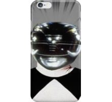 Black Power ranger merch iPhone Case/Skin