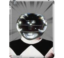 Black Power ranger merch iPad Case/Skin