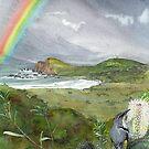 Bruny Island Rainbow by melhillswildart