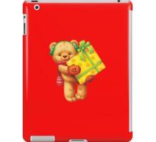 New Year Teddy Bear iPad Case/Skin