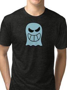 Naughty Halloween Ghost Tri-blend T-Shirt