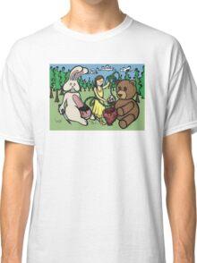 Teddy Bear and Bunny - Hidden Treasures Classic T-Shirt