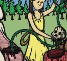 Teddy Bear and Bunny - Hidden Treasures Sticker
