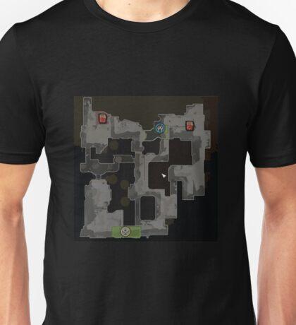 CSGO Dust 2 Map Unisex T-Shirt