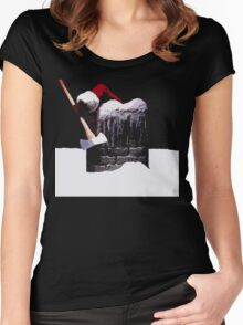 Silent Night... Women's Fitted Scoop T-Shirt