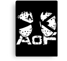 Art Of Fighters Logo Canvas Print