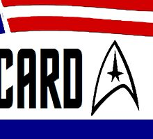 Picard - Riker a ticket you can believe in by morever08