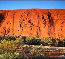 Uluru Detail by kcy011