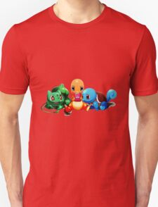 Pokemon Starter Play Game T-Shirt