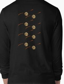 I Open At The Close Golden Pixel Snitch Long Sleeve T-Shirt