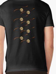 I Open At The Close Golden Pixel Snitch Mens V-Neck T-Shirt