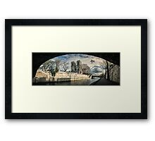 Notre Dame Panorama Framed Print