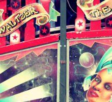 Super waltzer Sticker