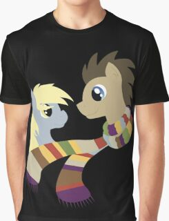 My Little Pony: Friendship is Magic - Dr Hooves and Derpy Hooves Graphic T-Shirt