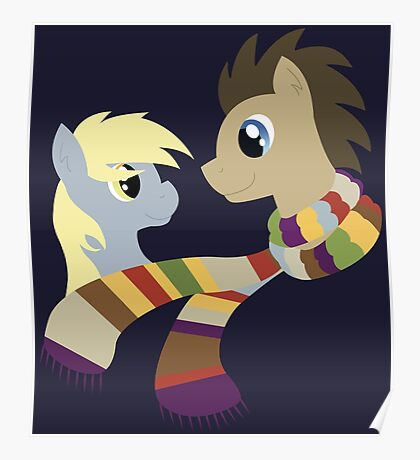 My Little Pony: Friendship is Magic - Dr Hooves and Derpy Hooves Poster