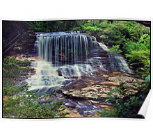 Weeping Rock - Wentworth Falls Poster