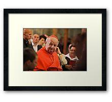 Quo Vadis Domine ! Celebrities Photography . Framed Print