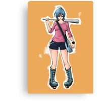 """Ramona Flowers - """"+1 Against Blondes"""" Canvas Print"""