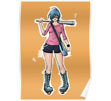 """Ramona Flowers - """"+1 Against Blondes"""" Poster"""