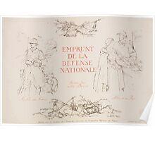 Emprunt de la Défense Nationale Faisons tous notre devoir Nos fils aux armées Notre or au pays Poster