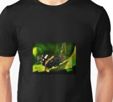 Red Admiral butterfly on a leaf Unisex T-Shirt
