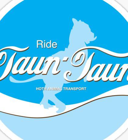 Ride TaunTaun Sticker