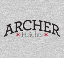 Archer Heights Neighborhood Tee One Piece - Long Sleeve