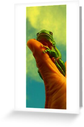 Thumb Frog by mattzarb