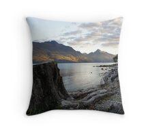 Queenstown Lake Throw Pillow