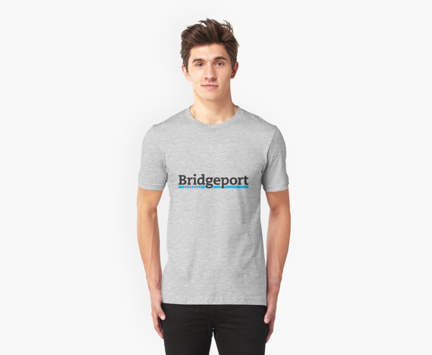 Bridgeport Neighborhood Tee by Chicago Tee