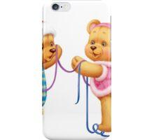 New Year Teddy Bear iPhone Case/Skin
