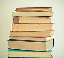 Stack of Books by Cassia Beck