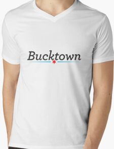 Bucktown Neighborhood Tee Mens V-Neck T-Shirt