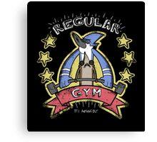 Regular Gym Canvas Print