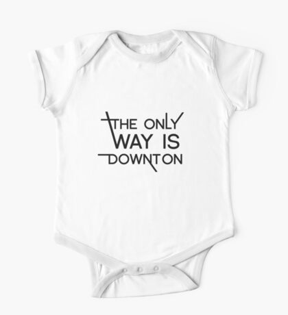 THE ONLY WAY IS DOWNTON One Piece - Short Sleeve