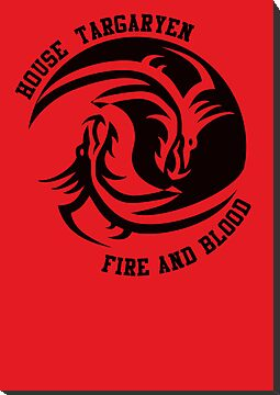 House Targaryen - Ying/Yang Dragon by amanoxford
