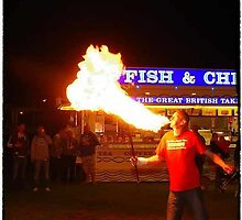 fire breathing gums festival by cool3water