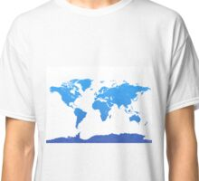 World map E water Classic T-Shirt