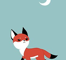 Moon Fox by freeminds