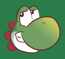 Yoshi's on a T-shirt by Brandon Gregory